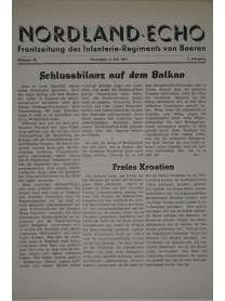 NORDLAND-ECHO - Frontzeitung des Infanterie-Regiments von Beeren - Nr. 18 - 4. Mai 1941