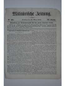 Militärische Zeitung - Nr. 37 - 27. März 1855