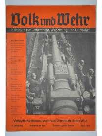 Volk und Wehr - Zeitschrift für Wehrmacht, Seegeltung und Luftfahrt - Juni 1940