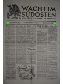 WACHT IM SÜDOSTEN - Deutsche Soldatenzeitung - Nr. 405 - 15. März 1941