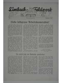 Limbach-Feldpost - Folge 8 - Mai 1941
