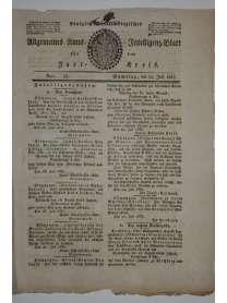 Königlich Württembergisches Allgemeines Amts- und Intelligenz-Blatt für den Jagstkreis - Nr. 58 - 22. Juli 1837
