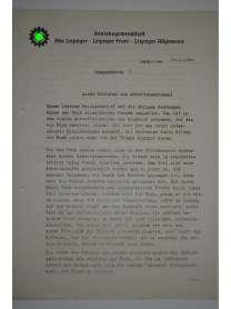 Feldpostbrief - Leipziger Versicherungs-Gemeinschaft am Dittrichring - Nr. 5 - 20. April 1940