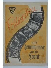 Werkzeitschrift - Bilderschau und Heimatgrüsse an die Front - MWN - Weihnachten 1944