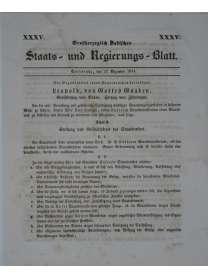 Großherzoglich Badisches Staats- und Regierungs - Blatt  -  Nr. 35 - 27. Dezember 1844