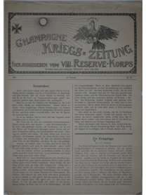 Champagne-Kriegszeitung - VIII. Reserve-Korps - Nr. 95 - 19. Februar 1916