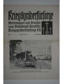 Kriegsgräberfürsorge - Heft 6 - Juni 1941