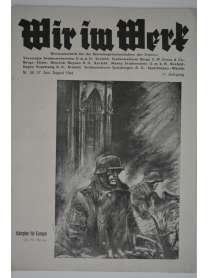 Wir im Werk - Werkzeitschrift - Nr. 56/57 - Juni/August 1944