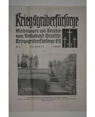 Kriegsgräberfürsorge Heft 6/7 Juni/Juli 1940-20