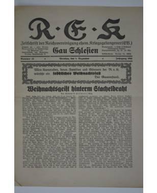 R-E-K Gau Schlesien Nr. 12 1. Dezember 1931-20
