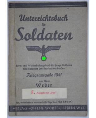 """Unterrichtsbuch für Soldaten 1942 F. Ausgabe für """"Pak""""-20"""