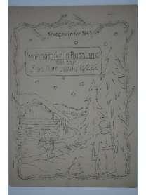 Bierzeitung - Erinnerungsschrift - Sanitäts Kompanie 2/222 - Russland - Kriegswinter 1941