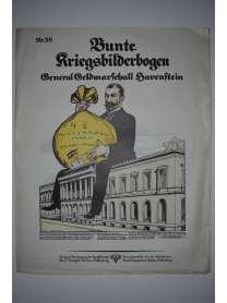 Bunte Kriegsbilderbogen - General Geldmarschall Havenstein - Nr. 26 - 1915