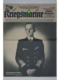 Die Kriegsmarine - Heft 4 - Februar 1943 - Schul-Ausgabe
