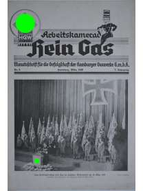 Werkzeitung - Arbeitskamerad Hein Gas - Nr. 3 - März 1940