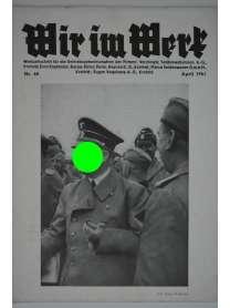 Wir im Werk - Werkzeitschrift - Nr. 40 - April 1941