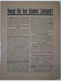 Flugblatt Volksentscheid - Young-Plan - DNVP - NSDAP - Stahlhelm - Nr. 15 - Oktober 1929