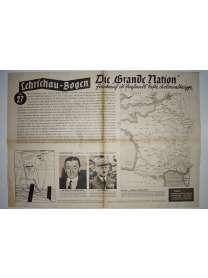 Lehrschau-Bogen - Nr. 27/27a - Frankreich - Grande Nation