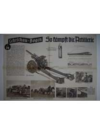 Lehrschau-Bogen - Nr. 14/14a - So kämpft die Artillerie
