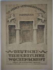 Deutsche Tierärztliche Wochenschrift - Nr. 8 - 1936 - Einweihung der Heeres-Veterinärakademie Hannover - Oberfeldveterinär Dr. Ohl