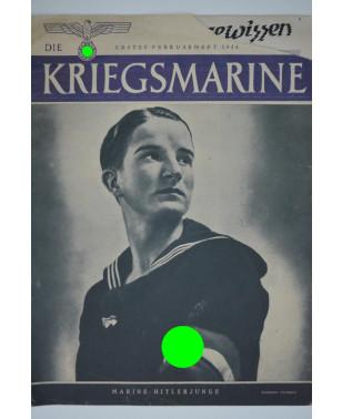 Die Kriegsmarine Heft 3 Februar 1944 Ausgabe S-21