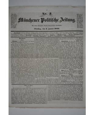 Münchner Politische Zeitung Nr. 2 2. Januar 1844-20