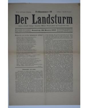 Der Landsturm Feldnummer 10 28. März 1915-20