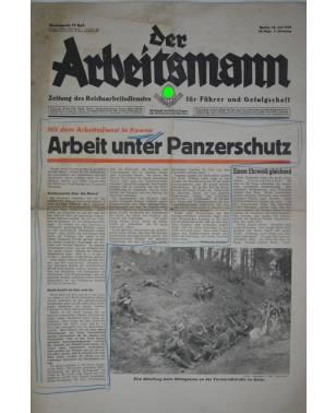 Der Arbeitsmann 28. Folge 12 Juli 1941-20