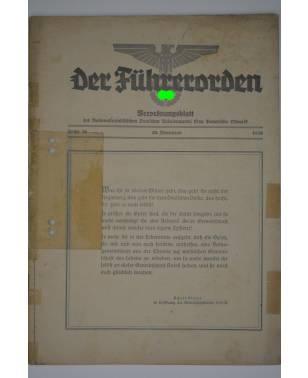 Der Führerorden Folge 36 29. November 1935 Verordnungsblatt NSDAP Gau Bayerische Ostmark-20