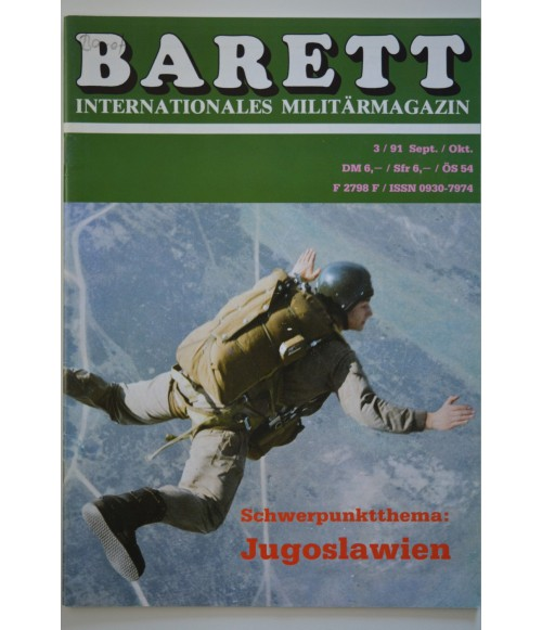 Barett Internationales Militärmagazin Heft 28 September / Oktober 3 / 1991-31