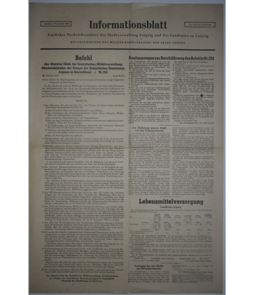 Informationsblatt Leipzig Nr. 49 11. November 1945-32