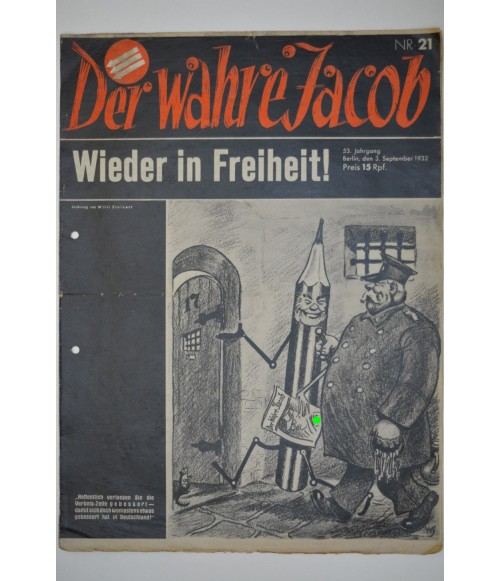 Der Wahre Jacob Nr. 21 3. September 1932-31