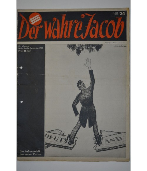 Der Wahre Jacob Nr. 24 24. September 1932-31