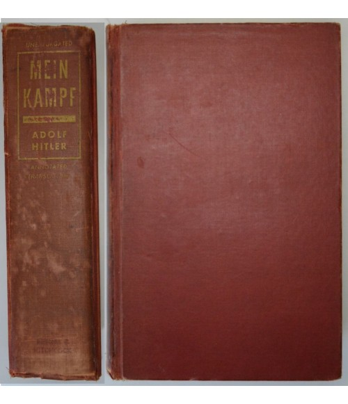 Mein Kampf US Ausgabe Complete and Unabridged Fully Annotated Reynal and Hitchcock 1941-31