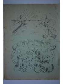 Bierzeitung - Erinnerungsschrift - 2. Grenadier-Regiment 752 - Kriegsweihnachten - 1943