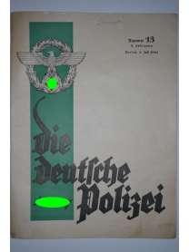 Die Deutsche Polizei - Nr. 13 - 1. Juli 1940
