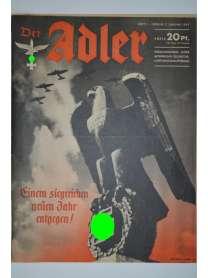 Der Adler - Heft 1 - 7. Januar 1941