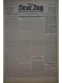 Der Neue Tag - Tageszeitung für Böhmen und Mähren - Nr. 10 - 10. Januar 1943