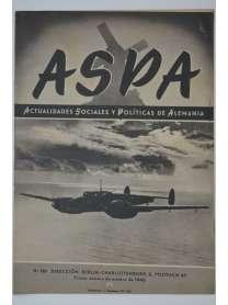 ASPA - Actualidades Sociales y Politicas de Alemania - No. 129 - 1942 - Deutsche soziale und politische Nachrichten