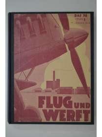 Flug und Werft - Jahrgang 1938 - 1939 - 1940 - Deutsche Luftwacht Ausgabe Luftwelt - Nachrichten NSFK Gruppe 9