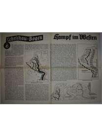 Lehrschau-Bogen - Nr. 45/45a - Kampf im Westen