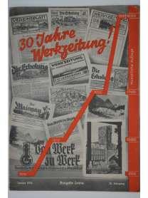 Werkzeitschrift - Von Werk zu Werk - I.G. Farbenindustrie - Januar 1939