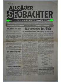 Allgäuer Beobachter - Nr. 3 - 3. Dezember 1930