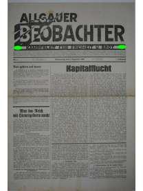 Allgäuer Beobachter - Nr. 4 - 4. Dezember 1930