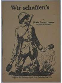 Wir schaffen´s! - Bodo Zimmermann - 1918