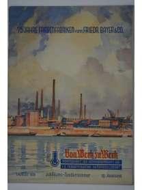 Werkzeitschrift - Von Werk zu Werk - I.G. Farbenindustrie - 1. August 1938