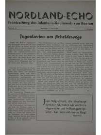 NORDLAND-ECHO - Frontzeitung des Infanterie-Regiments von Beeren - Nr. 14 - 6. April 1941