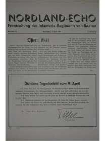 NORDLAND-ECHO - Frontzeitung des Infanterie-Regiments von Beeren - Nr. 15 - 9. April 1941