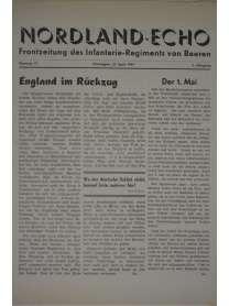 NORDLAND-ECHO - Frontzeitung des Infanterie-Regiments von Beeren - Nr. 17 - 27. April 1941