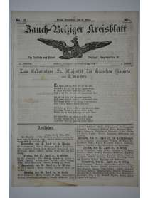 Zauch-Belziger Kreisblatt - Nr. 12 - 21. März 1874